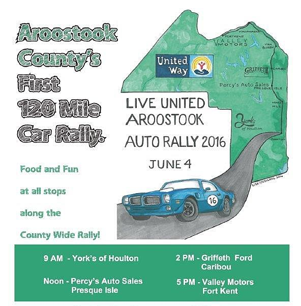 Auto rally to span the county for Valley motors fort kent